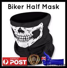 Half Skull Face Mask Bike Biker Ski Snowboard  Halloween Full Balaclava Festival