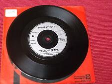 """Philip Lynott:  Yellow Pearl  7""""   near mint"""