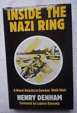 Inside the Nazi Ring by Henry Denham (1985, Hardcover)