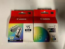 BCI 15 and 16 ink for ip90 ip80 Genuine Canon ink