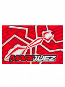 Flagge MM93 Flag Ant Marc Marquez 93 Fahne MotoGP rot Ameise