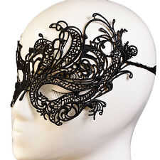 Women Sexy Hollow Lace Mask Eye Masquerade Halloween Carnival Party Costume Ball