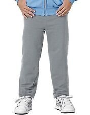 Hanes P450 Youth Comfortblend Ecosmart Fleece Pant Light Steel - Large Free Ship