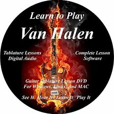 Van Halen 192 Guitar TABS Lesson CD 54 Backing Tracks, MEGA BONUS
