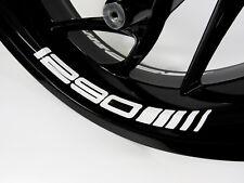 Felgenbettaufkleber 790013 weiß 4er-Set Passend für KTM 1290 Motorrad