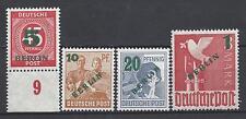 """Berlin Mi.Nr.64-67 ** Absolut postfrisch """"Grünaufdruck"""" 64 mit P UR !"""