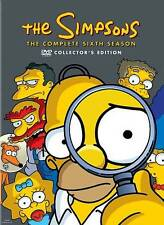 The Simpsons ~ The Complete Season 6 Six Sixth Season Brand New DVD