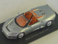 SPARK S2155 - Spyker C8 Aileron Spyder 2009 argent mat 1/43