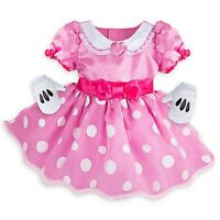 NEW Disney Store Minnie Mouse Baby Costume Dress 12-18M NWT $34.95