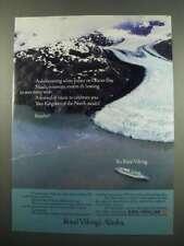 1984 Royal Viking Line Ad - On Glacier Bay