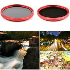 Fotga 58mm Camera Slim Fader Variable ND Lens Filter Neutral Density ND2-ND400