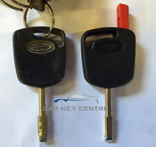 Ford Tibbe Cut Only Car Key New Fob Fiesta Focus Transit Blade Standard No Chip