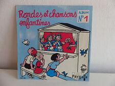 Rondes et chansons enfantines Album N°1 450168 Dessin EFFEL