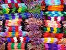 Lot de 100 Bracelets Brésiliens Revendeur Macramé Grossiste bijoux coton Amitié
