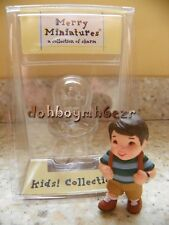 Hallmark 2000 Merry Miniatures Kids Collection Trooper Brunette