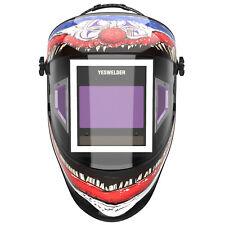 Auto Darkening Welding Helmet True Color Panoramic 180 View 1111 Welder Hood
