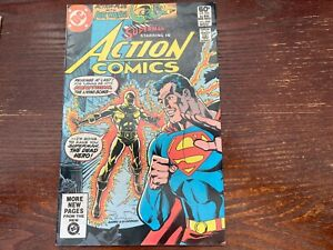 Action Comics #525 (NM)White Pages. First Appearance Neutron. & 3 other comics!