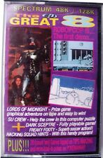 VINTAGE THE GREAT 8 MARCH 1992 ISSUE 16 FOR SPECTRUM 48K/128K