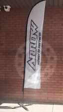Go Kart - Arrow Power To Perform Logo Beach Flag - NEW