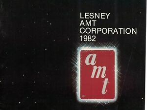 LESNEY AMT CORPORATION 1982 CATALOG