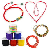 45m 0.8mm Waxed Cotton Cord Wire Thread Bead Macrame String For Hnadmade Jewelry