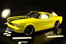 Absima 1:10 US Classic Body No.3 2410008 Mustang Vintage Clear Body Tourenwagen