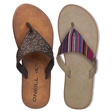 Flache Damen-Sandalen & -Badeschuhe aus Kunstleder für den Strand