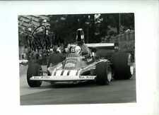 Clay Regazzoni Ferrari 312 B3 British Grand Prix 1974 Signed Press Photograph 4