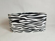 4 Compartment Animal Print Sturdy Desk Top Table Organizer - PreOwned
