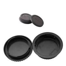 Rear Lens Cover + Camera Body Front Cap Protective for Canon EOS EF-S DSLR Lens