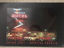 3 x 2 Ft Route 66 High Gloss Poster from Lucinda Lewis Thunderbird Motel