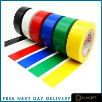 PVC Electrical Insulating Tape Flame Retardent Coloured Insulation Tapes 18/30mm
