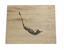Sanibel & Captiva Map Wooden Serving Board