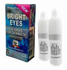 Bright Eyes NAC Ethos Eye Drops for Cataracts 2 x 5ml Virals 10ml in One Box