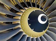 Jet engine près plan photo Art Imprimé Poster Photo bmp207a