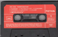 "THE CURE ""DESINTEGRATION"" RARE SPANISH CASSETE FULL LYRICS / ROBERT SMITH"