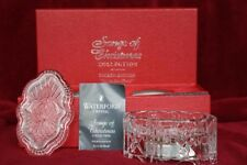 """1999 Waterford Songs of Christmas, 4th edition, """"Joy to the World"""" Music Box"""