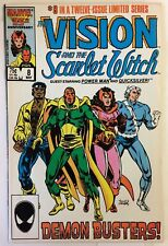 Vision and the Scarlet Witch #8 NM- LUKE CAGE QUICKSILVER AVENGERS Marvel Comics