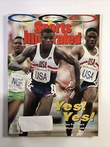 Sports Illustrated August 17 1992 Carl Lewis USA Olympic Gold Medal Champion
