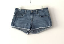 PINK by Victoria's Secret Denim Shorts Frayed Size 6.