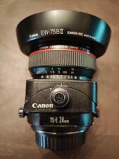 Canon TS-E 24mm f3.5 L Tilt Shift Lens