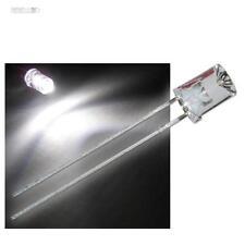 50 x LED 5mm concave blanc chaud - LEDs mi Accessoire blanc-chaud blancheur