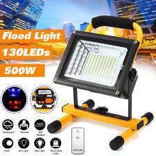 500W 130 LED Waterptoof Portable Outdoor Camping Flood Light Spot Work Lamp