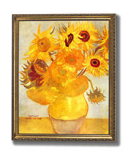 Vincent Van Gogh Sunflowers Floral Wall Picture Gold Framed Art Print