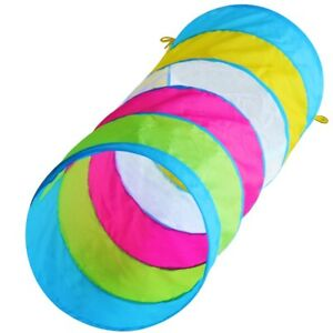 Kids 6ft Pop-up Play Tunnel Toy for Children, Mesh Window & Bag! FREE EXP SHIP!!