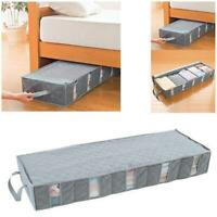 Lifewit Home Organizer Foldable Under Bed Storage Bag Container for Clothing ch