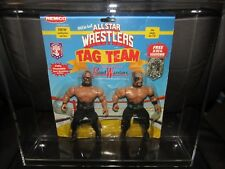 "REMCO AWA/wwf/nwa All Star Wrestling""ROAD WARRIORS"" figure""GEM""True moc, w/ case"