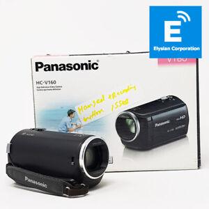 Panasonic V160 - Digital VideoCamera - 77X Zoom Intelligent - Black -Grade D #35