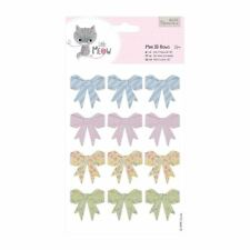 Do-crafts Mini 3D Bows (12pcs) - Little Meow for cards and crafts
