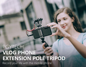 PGYTECH VLOG EXTENSION POLE METAL TRIPOD FOR UNIVERSAL SMARTPHONE